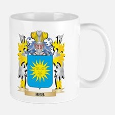 Heb Coat of Arms - Family Crest Mugs