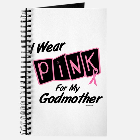 I Wear Pink For My Godmother 8 Journal
