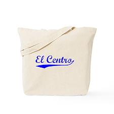 Vintage El Centro (Blue) Tote Bag