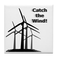Catch the Wind Tile Coaster