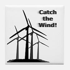 Catch the Wind Tile Coaster
