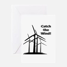 Catch the Wind Greeting Card