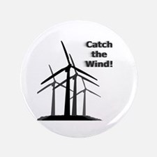 """Catch the Wind 3.5"""" Button"""