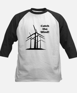 Catch the Wind Kids Baseball Jersey