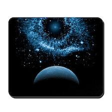 Blue Space Mousepad