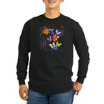 Radiate Long Sleeve Dark T-Shirt