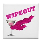 Wipeout Dice Game Tile Coaster