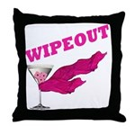 Wipeout Dice Game Throw Pillow