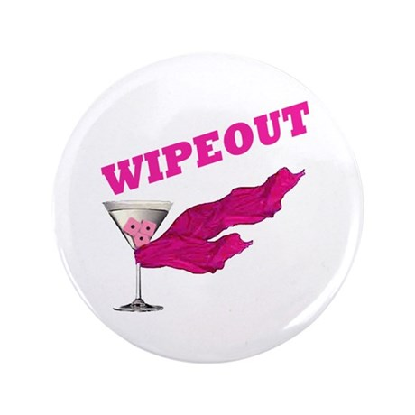 "Wipeout Dice Game 3.5"" Button"