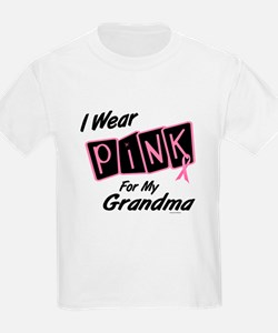 I Wear Pink For My Grandma 8 T-Shirt