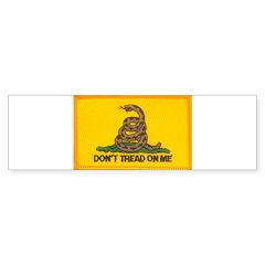 Don't Tread on Me! Bumper Bumper Sticker