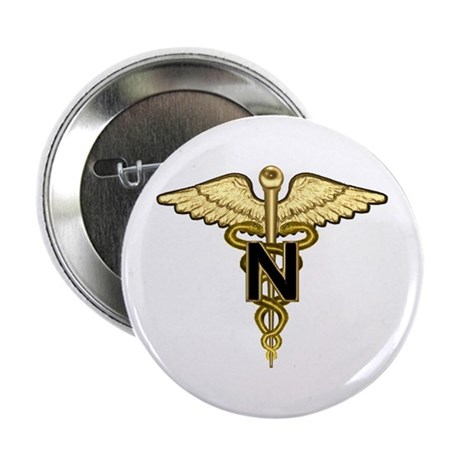U.S. Army Nurse Button