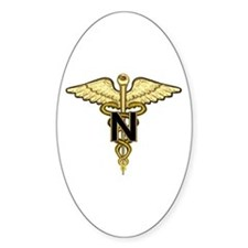 U.S. Army Nurse Oval Decal