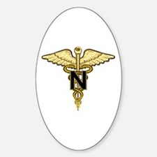 U.S. Army Nurse Oval Decal