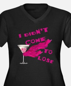 Didn't Come To Lose (2) Women's Plus Size V-Neck D