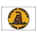 Don't Tread on Me-Circle Banner