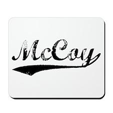 Vintage McCoy (Black) Mousepad
