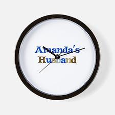 Amanda's Husband Wall Clock