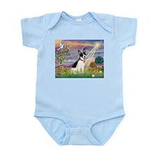 Cloud Angel & Rat Terrier Infant Bodysuit