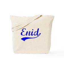 Vintage Enid (Blue) Tote Bag