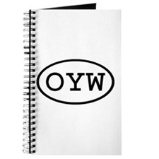 OYW Oval Journal