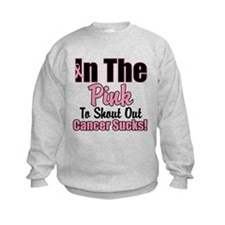 Shout Out Cancer Sucks Sweatshirt