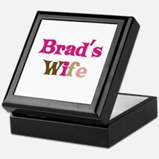 Brad's Wife Keepsake Box