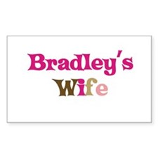 Bradley's Wife Rectangle Decal