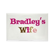 Bradley's Wife Rectangle Magnet