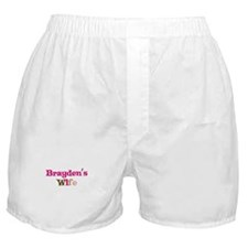 Brayden's Wife Boxer Shorts
