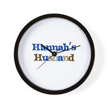 Hannah's Husband Wall Clock