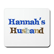 Hannah's Husband Mousepad