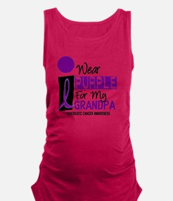 I Wear Purple For My Grandpa 9 PC Tank Top