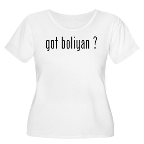 got boliyan ? Women's Plus Size Scoop Neck T-Shirt