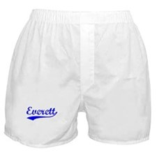 Vintage Everett (Blue) Boxer Shorts