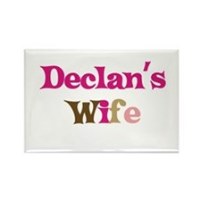 Declan's Wife Rectangle Magnet