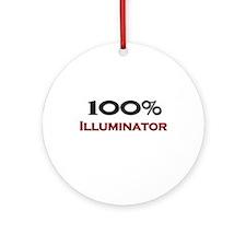 100 Percent Illuminator Ornament (Round)