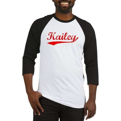 Vintage Kailey (Red) Baseball Jersey
