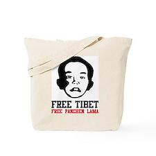 Free Panchen Lama Tote Bag