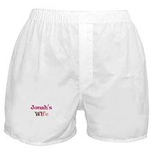 Jonah's Wife Boxer Shorts