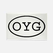 OYG Oval Rectangle Magnet