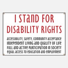 Disability Rights Banner