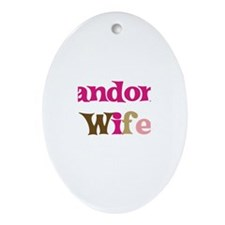 Landon's Wife Oval Ornament