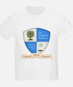 Our Fourpence Worth Crest T-Shirt