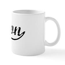 Vintage Melton (Black) Mug