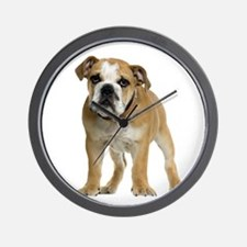 Bulldog Picture - Wall Clock