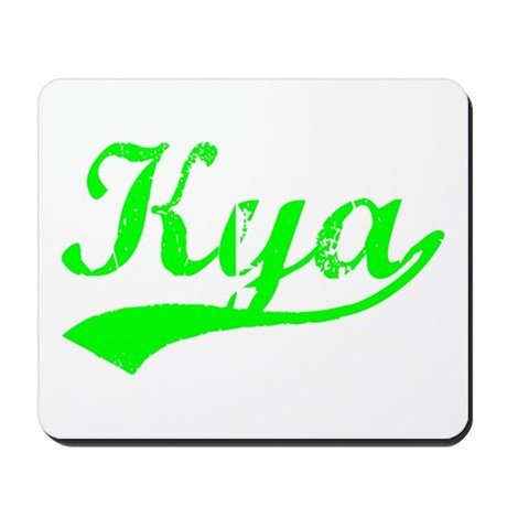 Vintage Kya (Green) Mousepad