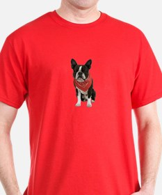Boston Terrier Picture - T-Shirt