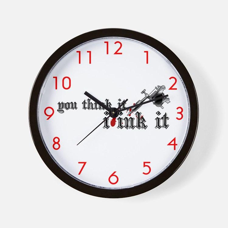 INK IT Designer Wall Clock