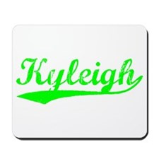 Vintage Kyleigh (Green) Mousepad